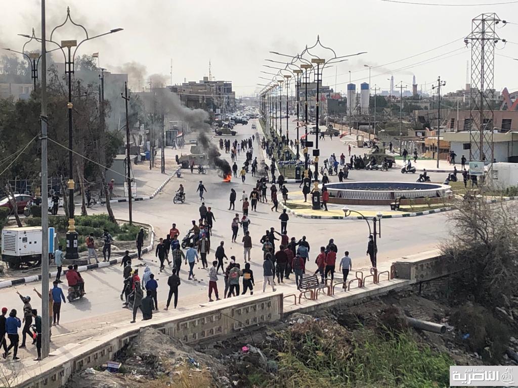 تجدد القتال في شوارع الناصرية قبل وصول البابا