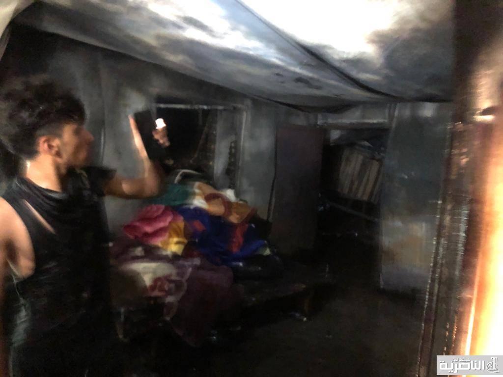 مانفعت الاموال التي خصصها الكاظمي مثل مستشفى ابن الخطيب مستشفى صدام بالناصرية يحترق الآن وأكثر من مائتي قتيل وجريح